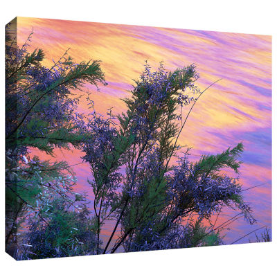 Brushstone Sandstone Reflections Gallery Wrapped Canvas Wall Art