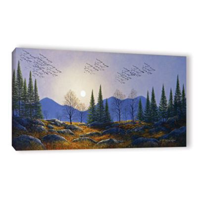 Brushstone Southern Migration By Moonlight GalleryWrapped Canvas Wall Art