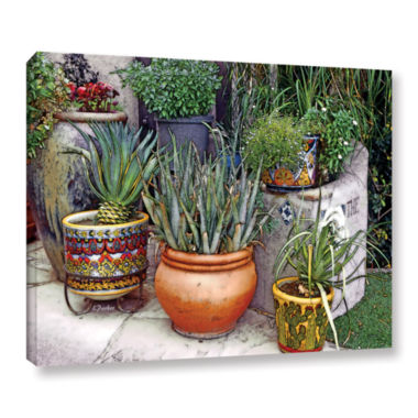 Brushstone Southwest Potted Garden Gallery WrappedCanvas Wall Art
