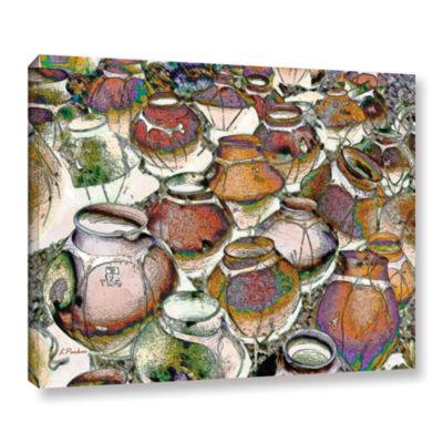 Brushstone Southwestern Pots Gallery Wrapped Canvas Wall Art