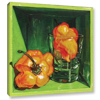 Brushstone Scotch Bonnet Gallery Wrapped Canvas Wall Art