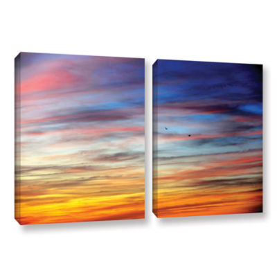 Brushstone Spacious Skies 2-pc. Gallery Wrapped Canvas Wall Art