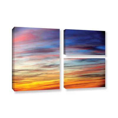 Brushstone Spacious Skies 3-pc. Flag Gallery Wrapped Canvas Wall Art