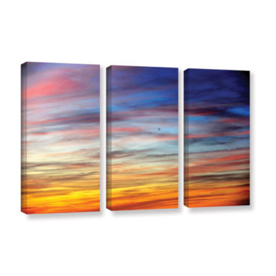 Brushstone Spacious Skies 3-pc. Gallery Wrapped Canvas Wall Art