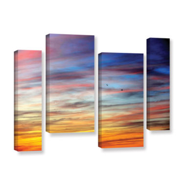 Brushstone Spacious Skies 4-pc. Gallery Wrapped Staggered Canvas Wall Art