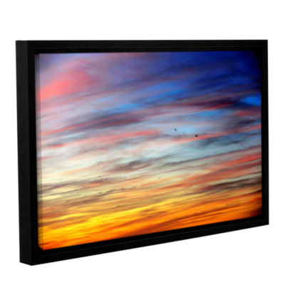 Brushstone Spacious Skies Gallery Wrapped Floater-Framed Canvas Wall Art