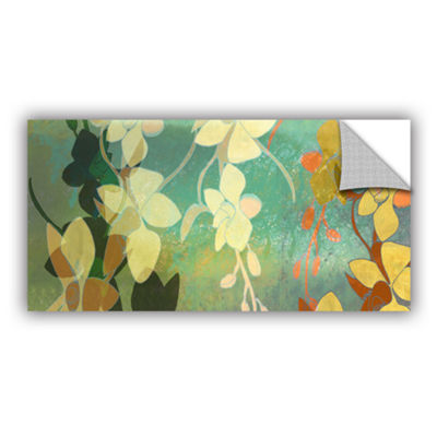 Brushstone Shadow Florals Removable Wall Decal