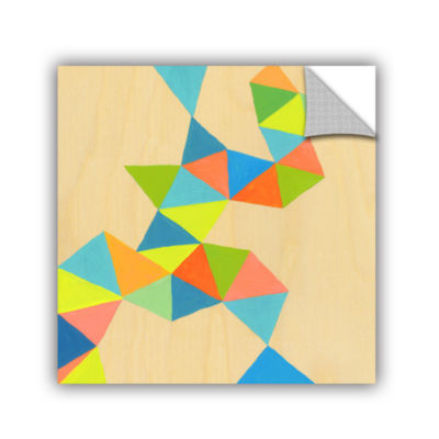 Brushstone Shapes At A Cellular Level 3 RemovableWall Decal