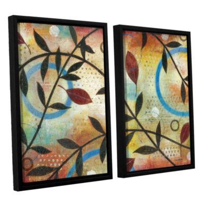 Brushstone Seasons Change 2-pc. Floater Framed Canvas Wall Art