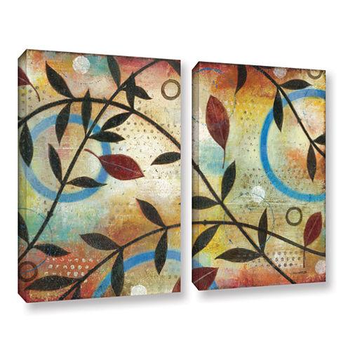Brushstone Seasons Change 2-pc. Gallery Wrapped Canvas Wall Art