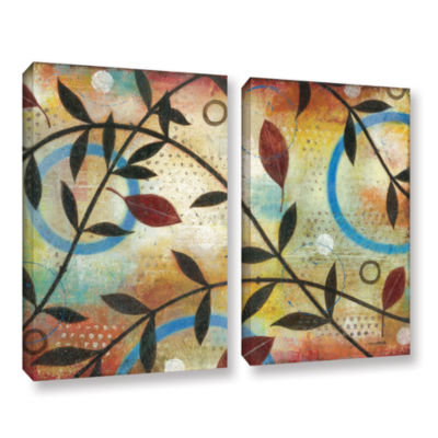Brushstone Seasons Change 2-pc. Gallery Wrapped Canvas Wall Art