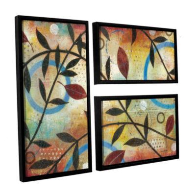 Brushstone Seasons Change 3-pc. Flag Floater Framed Canvas Wall Art
