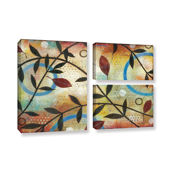 Brushstone Seasons Change 3-pc. Flag Gallery Wrapped Canvas Wall Art