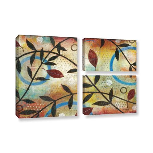 Brushstone Seasons Change 3-pc. Flag Gallery Wrapped Canvas Wall Art