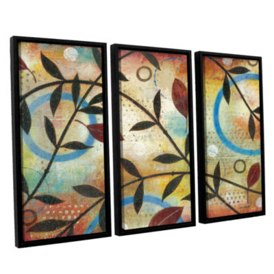 Brushstone Seasons Change 3-pc. Floater Framed Canvas Wall Art