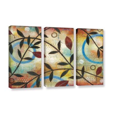 Brushstone Seasons Change 3-pc. Gallery Wrapped Canvas Wall Art