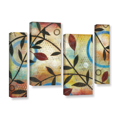 Brushstone Seasons Change 4-pc. Gallery Wrapped Staggered Canvas Wall Art