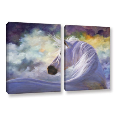 Brushstone Spirit 2-pc. Gallery Wrapped Canvas Wall Art