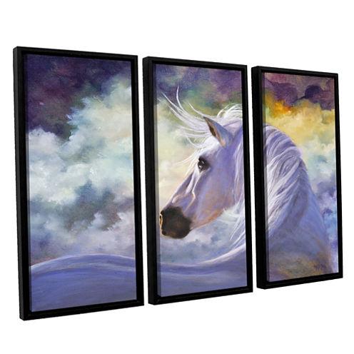 Brushstone Spirit 3-pc. Floater Framed Canvas WallArt