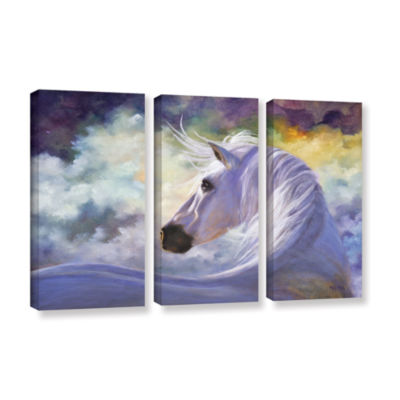 Brushstone Spirit 3-pc. Gallery Wrapped Canvas Wall Art