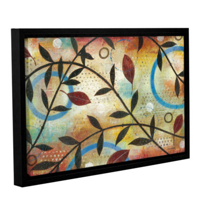 Brushstone Seasons Change Gallery Wrapped Floater-Framed Canvas Wall Art