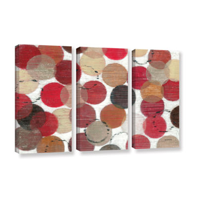 Brushstone Roulette 3-pc. Gallery Wrapped Canvas Wall Art