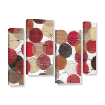 Brushstone Roulette 4-pc. Gallery Wrapped Staggered Canvas Wall Art