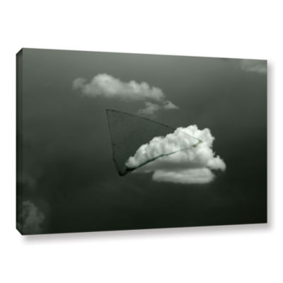 Brushstone Splinter Gallery Wrapped Canvas Wall Art
