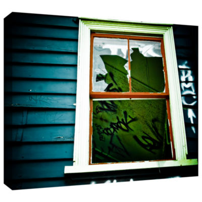 Brushstone Spooky House 1A Gallery Wrapped CanvasWall Art
