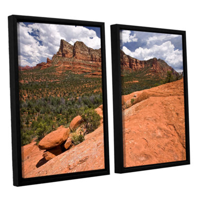 Brushstone Sedona 2-pc. Floater Framed Canvas WallArt