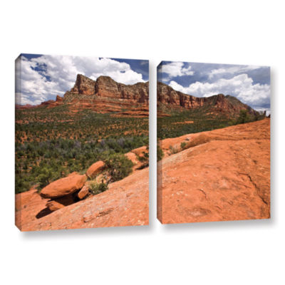 Brushstone Sedona 2-pc. Gallery Wrapped Canvas Wall Art