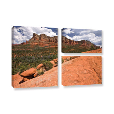 Brushstone Sedona 3-pc. Flag Gallery Wrapped Canvas Wall Art