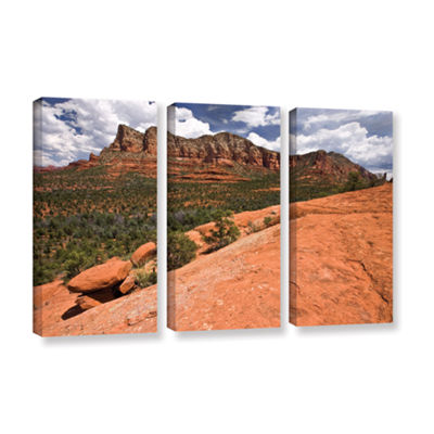 Brushstone Sedona 3-pc. Gallery Wrapped Canvas Wall Art