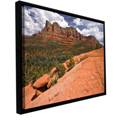 Brushstone Sedona Gallery Wrapped Floater-Framed Canvas Wall Art