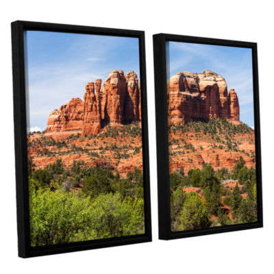 Brushstone Sedona 2 2-pc. Floater Framed Canvas Wall Art