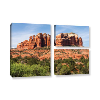 Brushstone Sedona 2 3-pc. Flag Gallery Wrapped Canvas Wall Art
