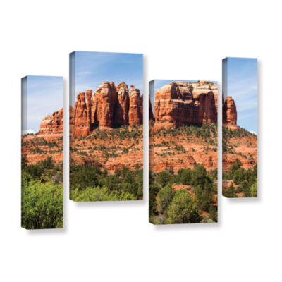 Brushstone Sedona 2 4-pc. Gallery Wrapped Staggered Canvas Wall Art