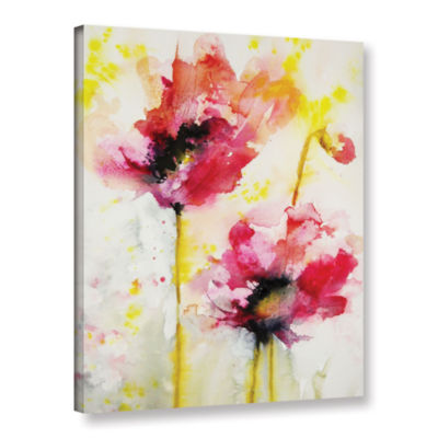 Brushstone Spring Blossoms Gallery Wrapped CanvasWall Art