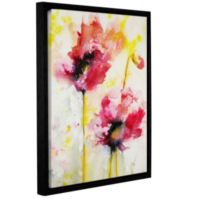 Brushstone Spring Blossoms Gallery Wrapped Floater-Framed Canvas Wall Art