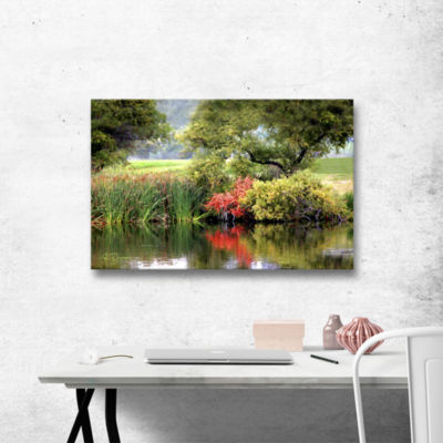 Brushstone Santee Lakes Gallery Wrapped Canvas Wall Art