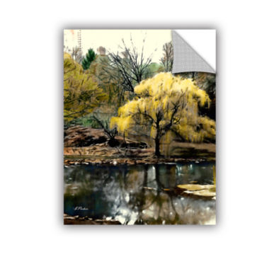 Brushstone Spring Central Park Removable Wall Decal