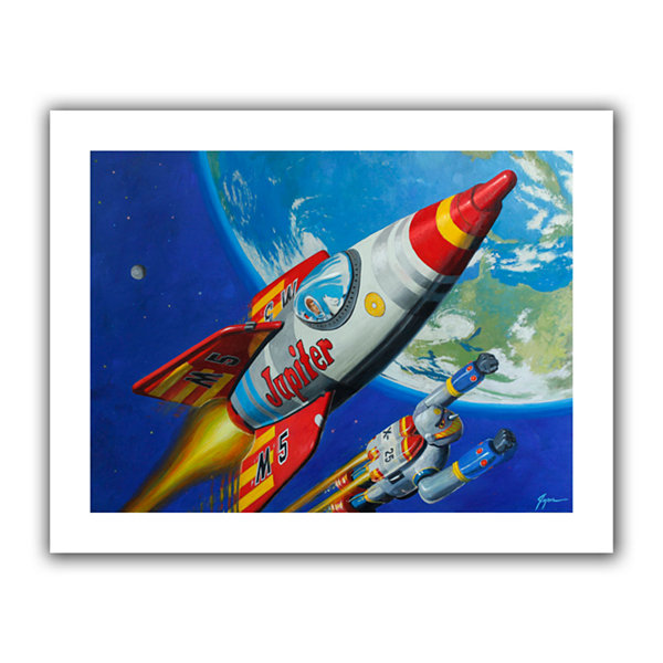 Brushstone Spacepatrol2 Canvas Wall Art