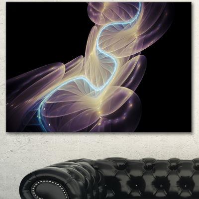 Design Art Elegant Fantasy Fractal Design AbstractCanvas Wall Art Print