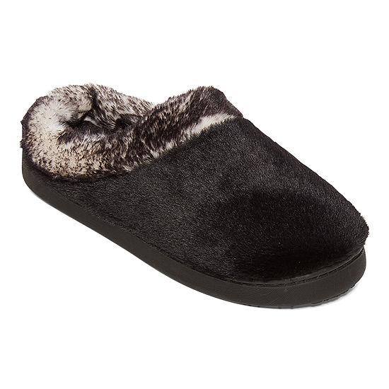 Cuddl Duds Womens Clog Slippers