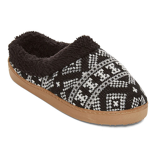Cuddl Duds Womens Clog Slippers