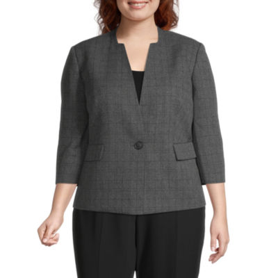 Black Label by Evan-Picone-Plus Suit Jacket