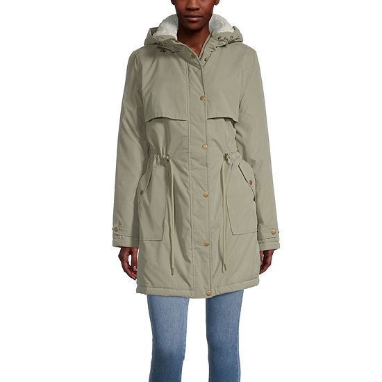 Hooded Midweight Anorak-Juniors