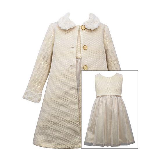 Bonnie Jean Baby Girls Sleeveless 2-pc. Dress Set