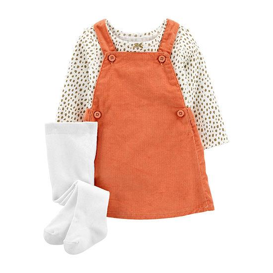 Carter's Baby Girls Long Sleeve Jumper