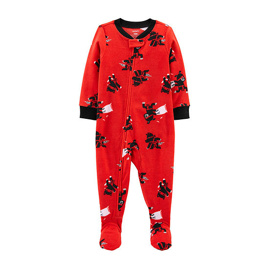 Carter's Baby Boys Microfleece Long Sleeve One Piece Pajama